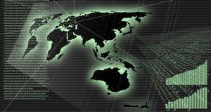 Diagrammes et transmission Photos libres de droits