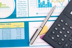 Diagrammfinanzierung Stockbilder