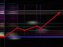 Diagrammhintergrund Stockbilder