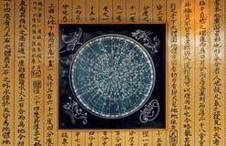 diagramstjärna Arkivbild