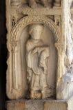Diakon, basowa ulga, Modena katedra, Włochy fotografia stock