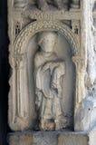 Diakon, Bass-Entlastung, Modena-Kathedrale, Italien lizenzfreies stockbild