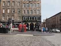 Diakon Brodies Tavernenkneipe in Edinburgh stockfotografie