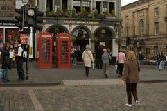 Diakonu Brodie ` s tawerna, Edynburg, Szkocja zdjęcia stock