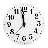Dial of analog hours Royalty Free Stock Photos