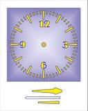 Dial azul Foto de archivo libre de regalías