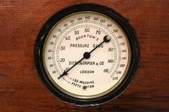 Dial barometer Stock Image