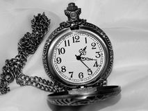 The dial on a black and white background Royalty Free Stock Image