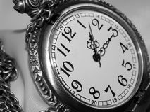 The dial on a black and white background Royalty Free Stock Photography