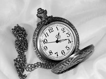 The dial on a black and white background Royalty Free Stock Photos