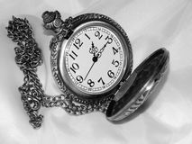 The dial on a black and white background Royalty Free Stock Images