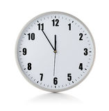 Dial of clock. Dial of round clock on white background Stock Images