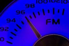 Dial de FM Imágenes de archivo libres de regalías