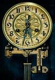 Dial de horas antiguas Fotografía de archivo libre de regalías