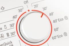 Dial de la lavadora Imagen de archivo