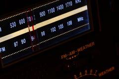 Dial de radio imágenes de archivo libres de regalías