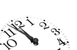 Dial de reloj fotos de archivo libres de regalías