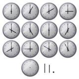 Dial de reloj Fotografía de archivo