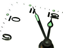 Dial de reloj foto de archivo