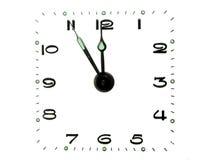 Dial de reloj fotografía de archivo libre de regalías