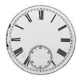 Dial de reloj viejo imágenes de archivo libres de regalías