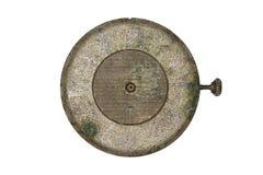 Dial de reloj viejo Imagen de archivo libre de regalías