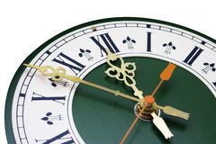 Dial del reloj analogico Foto de archivo libre de regalías
