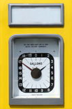 Dial del surtidor de gasolina del vintage Foto de archivo libre de regalías