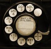 Dial del teléfono del vintage Foto de archivo libre de regalías