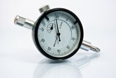DIAL GAUGE Stock Photo