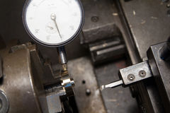 Dial gauge Stock Images