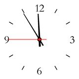 Dial of hours. Stock Photography