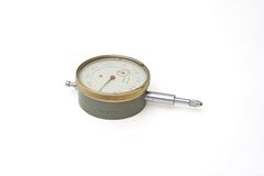 Dial indicator instrument Royalty Free Stock Image