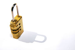Dial Lock. A lock with a code dial Royalty Free Stock Photo