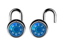 Dial lock Royalty Free Stock Photos