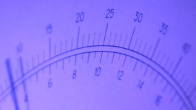 Dial meter stock video footage