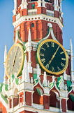 Dial the Moscow Kremlin. Moscow. Russia Stock Images