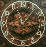 The dial of the old clock. Close up Stock Photo