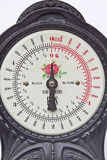Dial of an old scale Royalty Free Stock Images