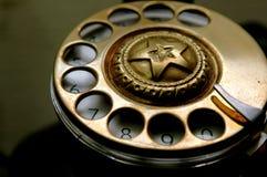 dial przycisk Fotografia Royalty Free