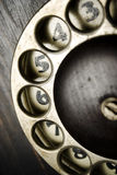 Dial ring Stock Photo