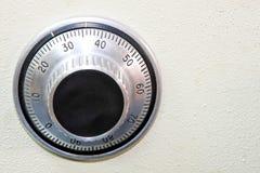 Dial seguro fotografía de archivo libre de regalías