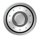 Dial seguro ilustración del vector