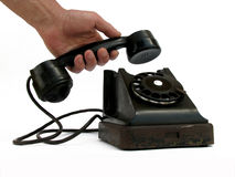 Dial telephone Stock Image