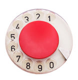 Dial of telephone Stock Photography