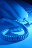Dial up telephone instrument Royalty Free Stock Photo