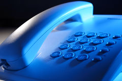Dial up telephone instrument Royalty Free Stock Image