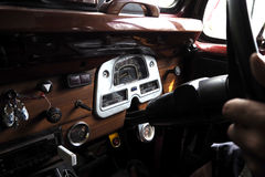 Dial vehicle. Old and classic Dial vehicle Royalty Free Stock Images