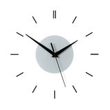 Dial of a wall clock Stock Photography