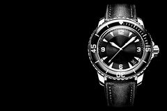 The dial wrist watch Royalty Free Stock Images